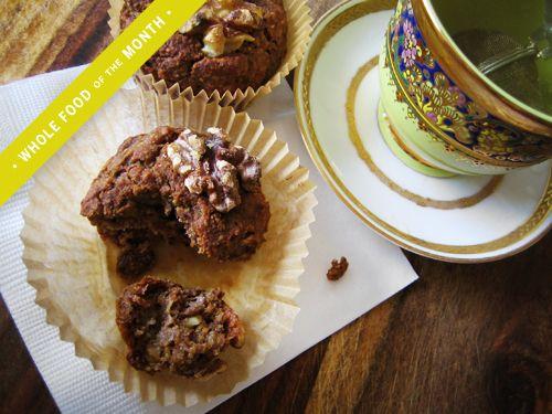 Naturally Sweetened & Gluten-Free Banana Walnut & Chia Muffins - YumUniverse™