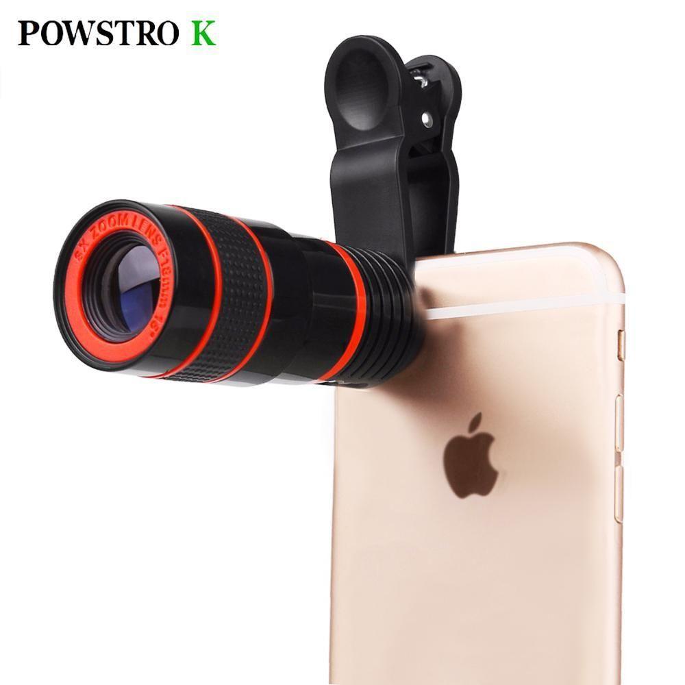 Phone Lens Scope 8x Zoom Telescope 164ft 1342ft All Smartphones