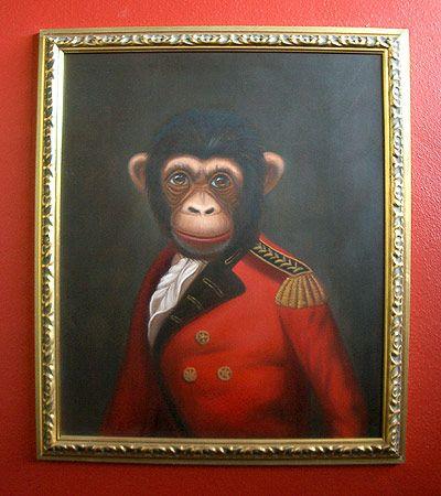 Monkey Finkbuilt Blog Archive The Monkey Paintings Tiere