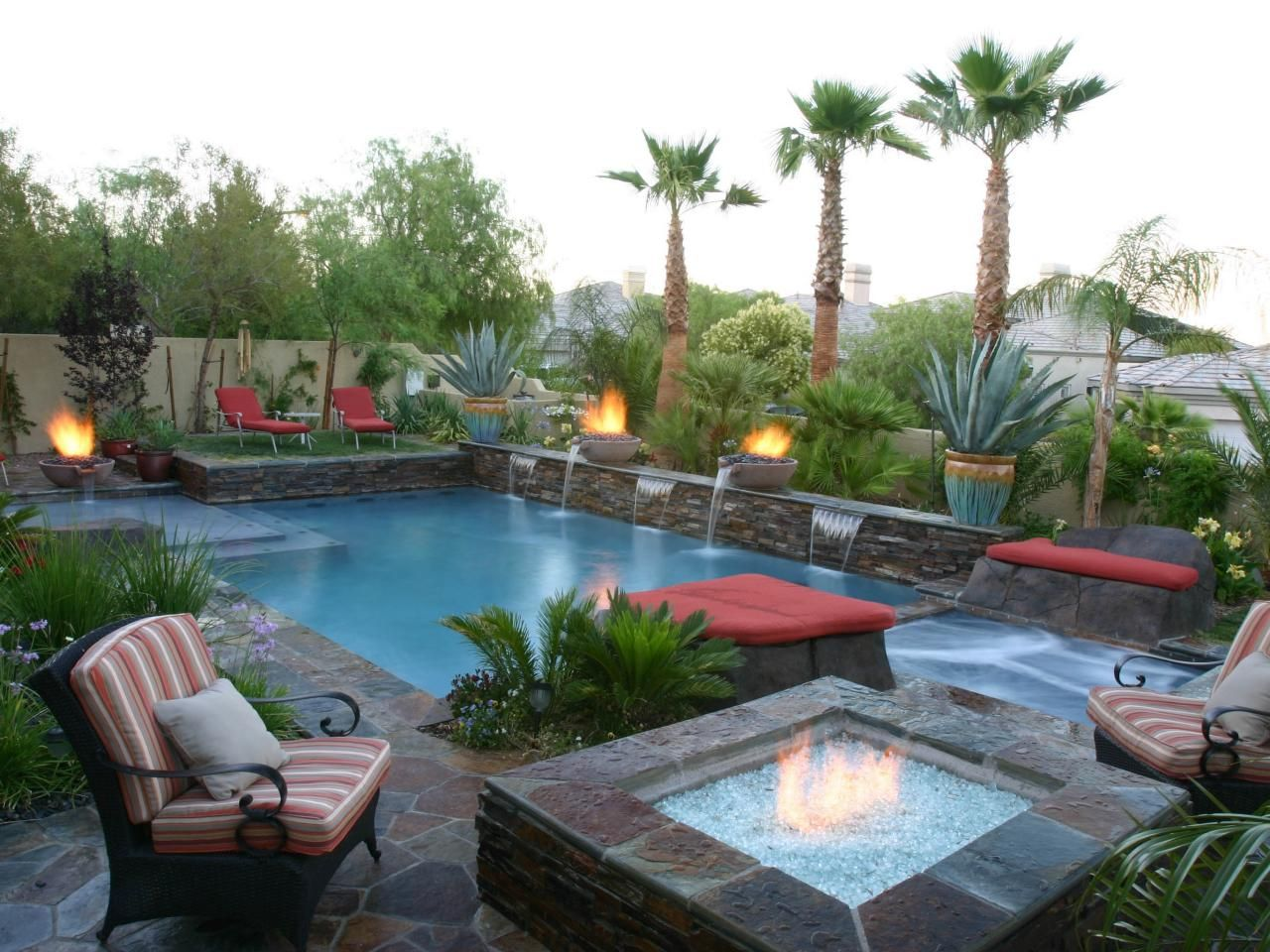 Pool And Patio Adheres To Feng Shui | HGTV
