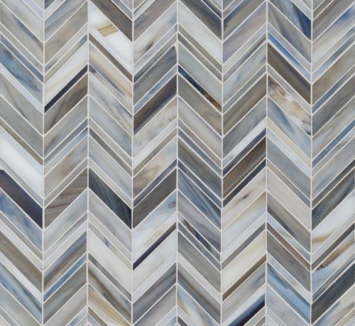 Best Swingin Chevron Detroit Blues Artistic Tile Chevron 400 x 300