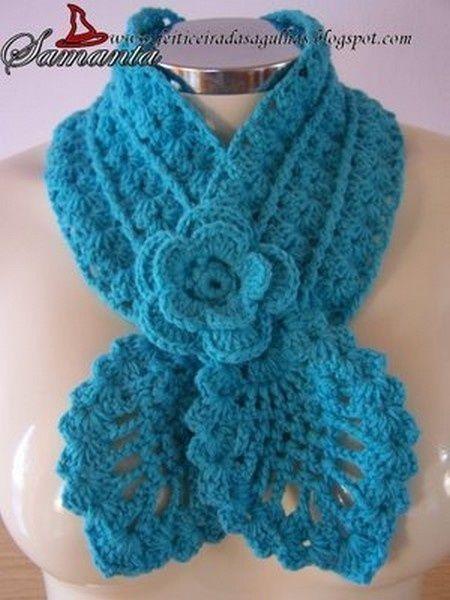 шарф вязание крючком блог настика вязаный берет и шарфик на весну