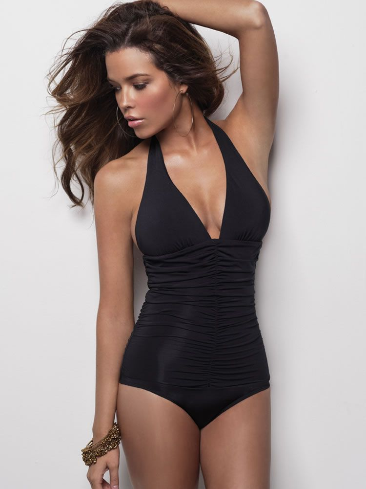 3ad6b52104a27 Classic, elegant yet sexy, and slimming! You sexy thing! Maio Swim by  Monica Wise L Space 2013