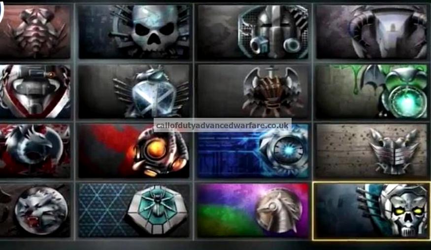All Call Of Duty Advanced Warfare Multiplayer Prestige S Emblems