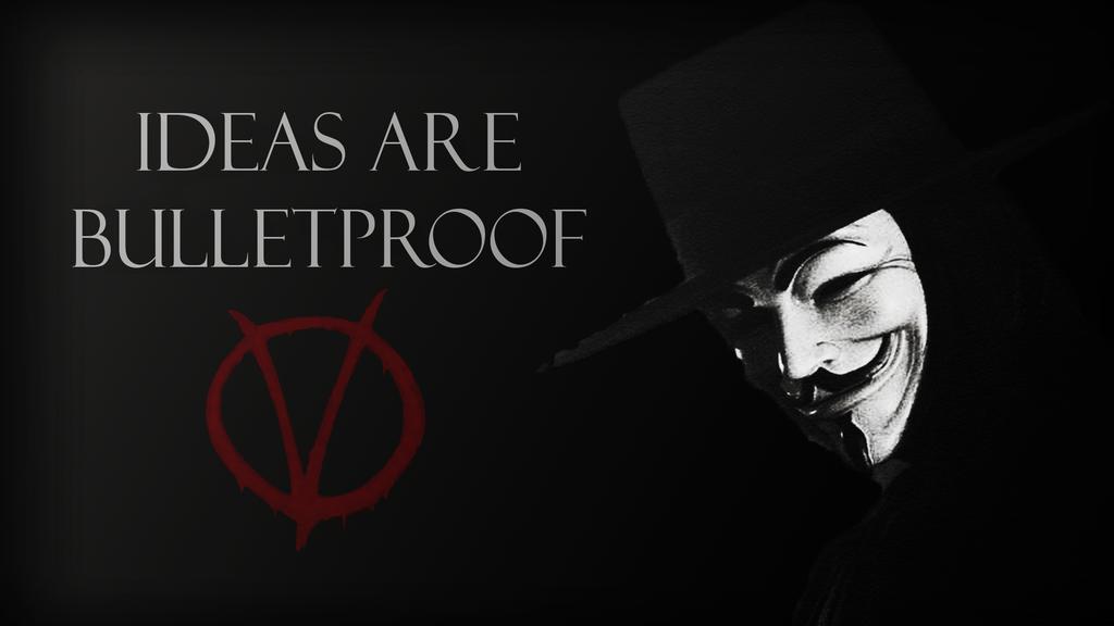 V For Vendetta Wallpaper By DubbyStepVids