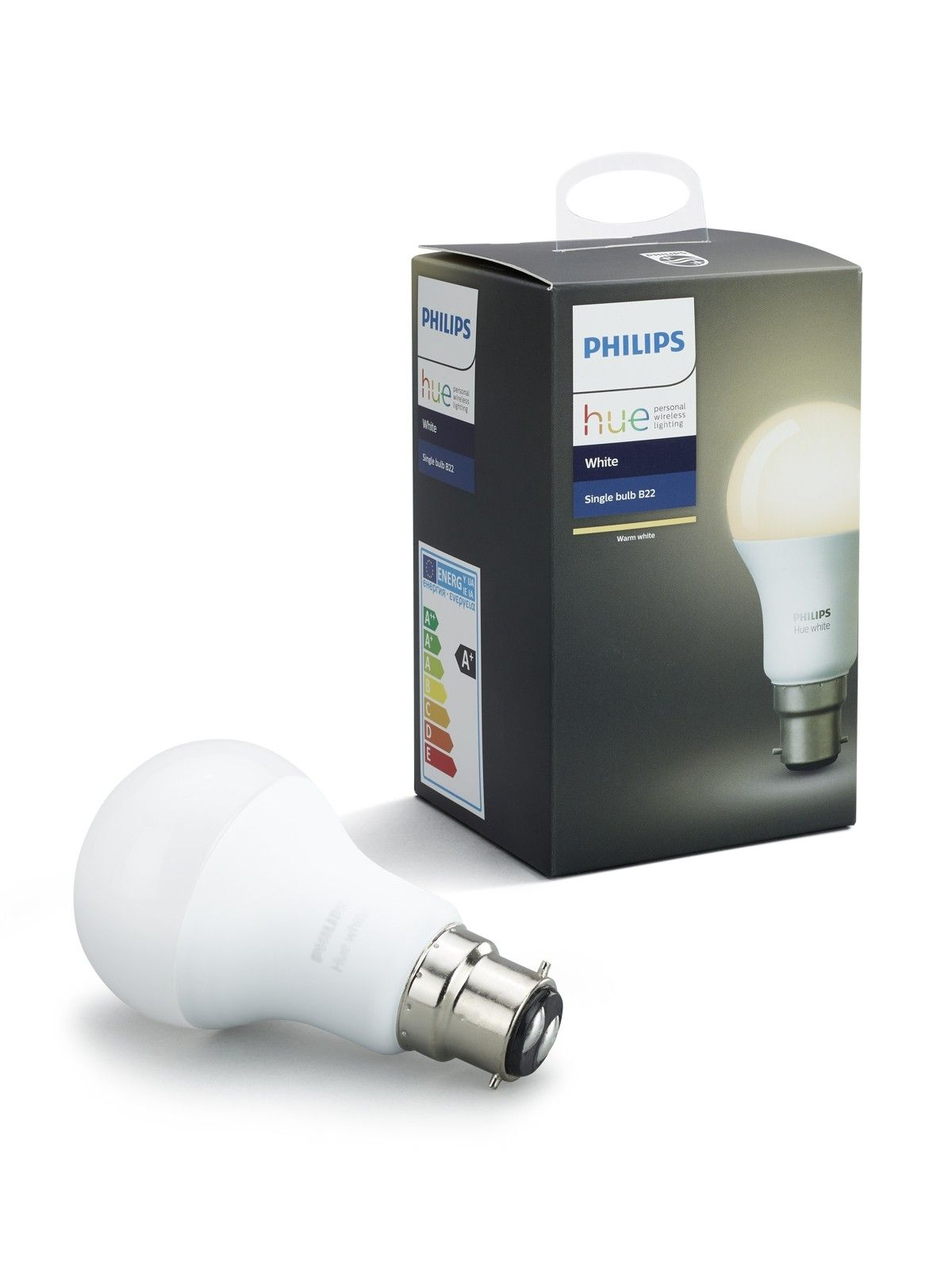 Philips Hue 9w Bc Globe In Warm White E27 Light Bulb Bulb