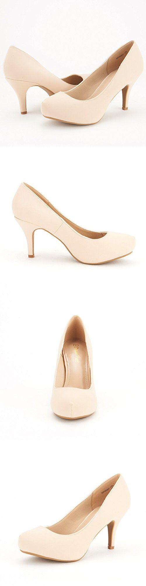 Low heel dress shoes for wedding  DREAM PAIRS TIFFANY Womenus Bridal Wedding Party Glitter Rhinestone