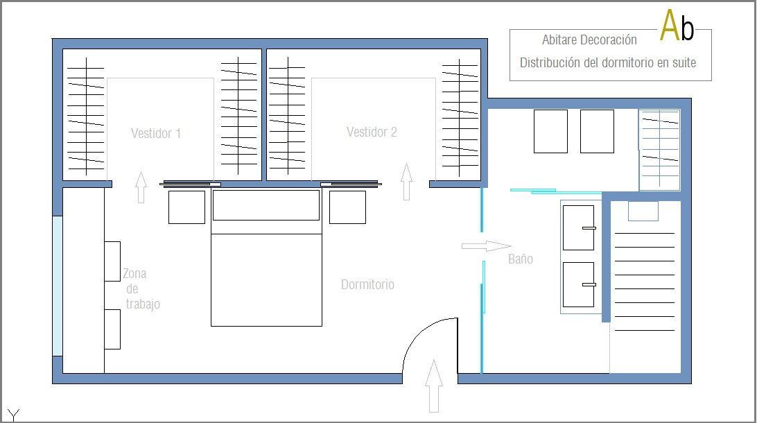 Dormitorio Con Vestidor Doble Y Un Amplio Bano Dormitorios Con
