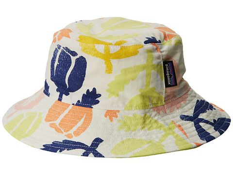 8a4cb4ace24 Patagonia Kids Baby Sun Bucket Hat (Infant Toddler)