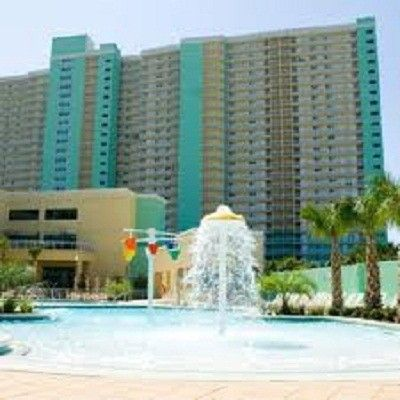 Kiddie Pool Area With Grill The 2 Emerald Beach Towers Shown In Background Panama City Panama Panama City Beach Fl Panama City Beach