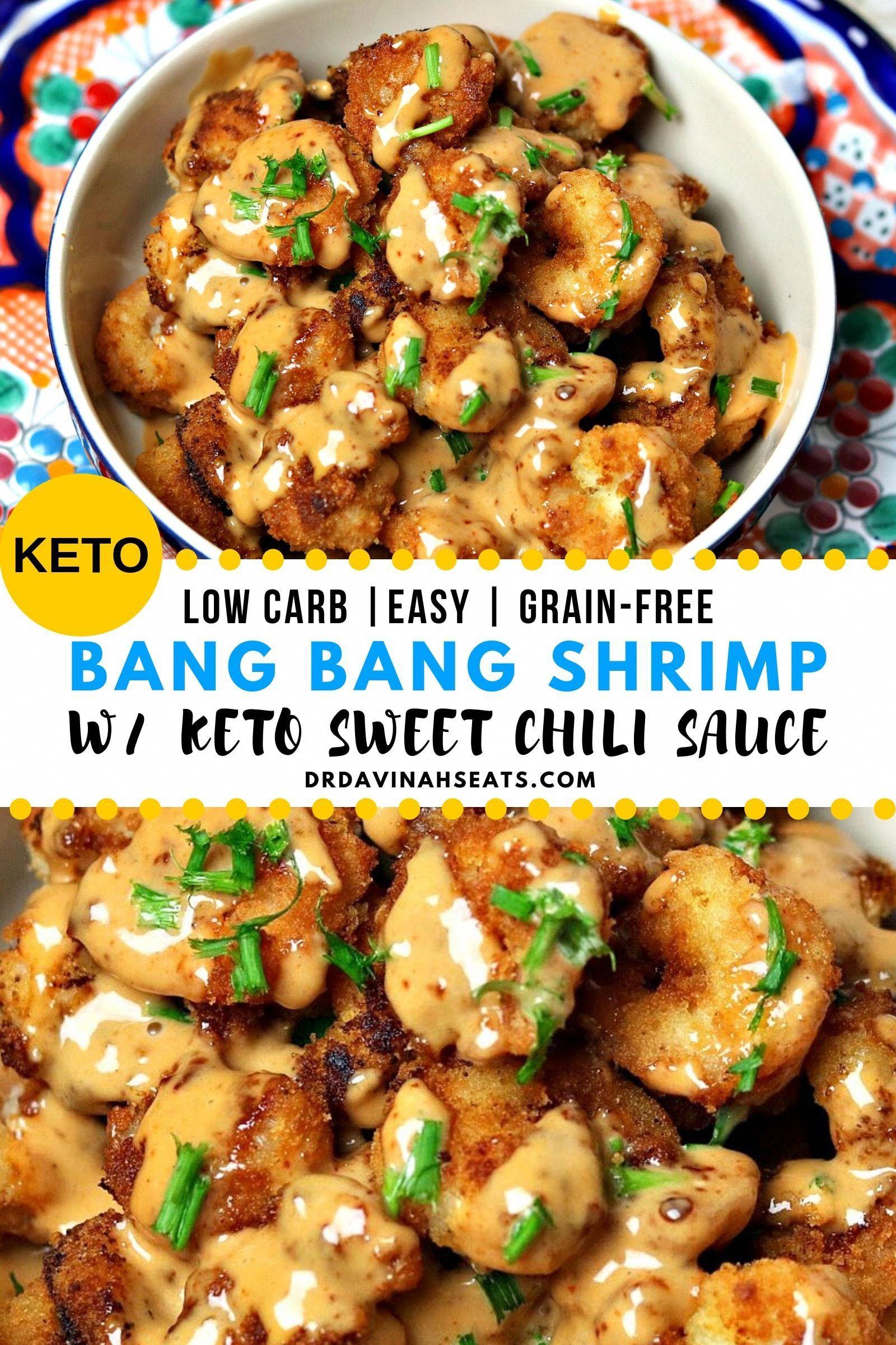 Low-Carb Bang Bang Shrimp Recipe (Grain-free, No-Added Sugar)   Dr. Davinah's Eats #lowcarbeating