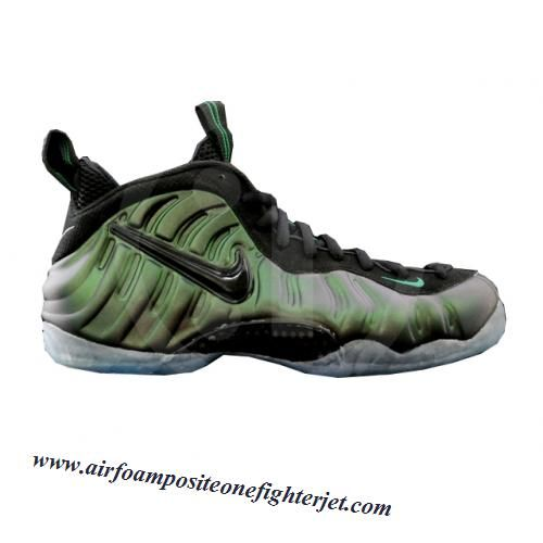 Nike Air Foamposite Pro Dark Pine Green Men's Basketball Shoes New