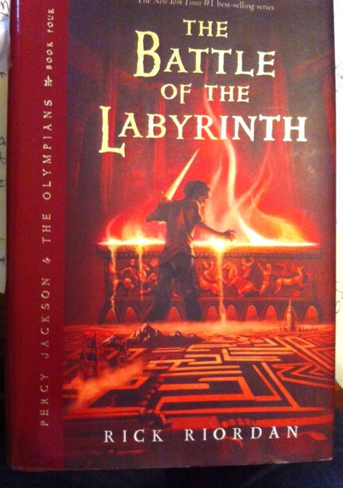 The Battle Of The Labyrinth Book