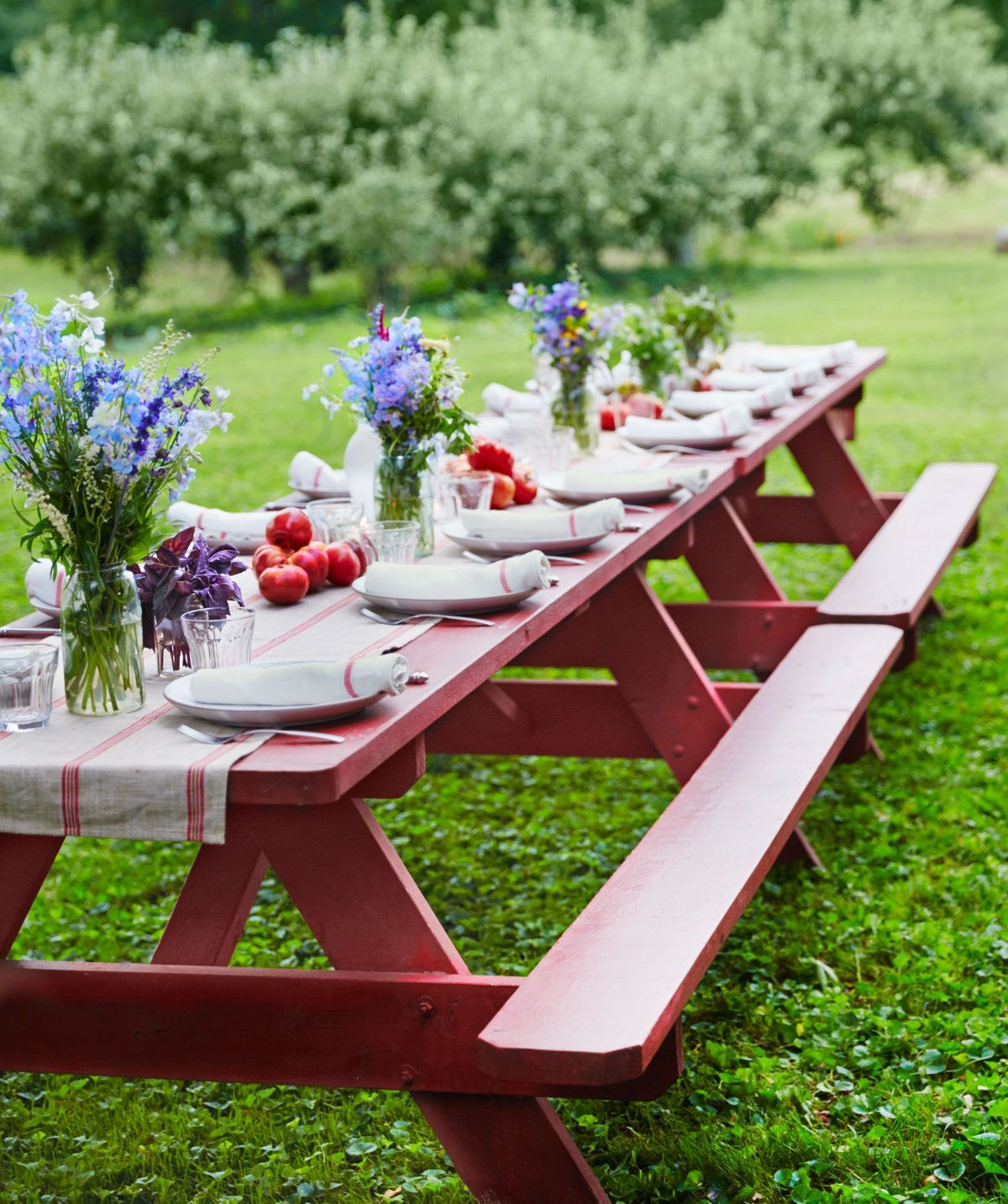 Outdoor Table Decor Easter Table Decorations Picnic Table Centerpieces Spring Table Settings