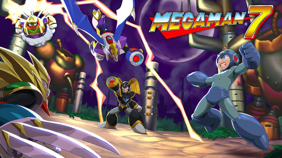 Mega Man 7 Legacy Collection 2 By Thechamba Ilustracoes