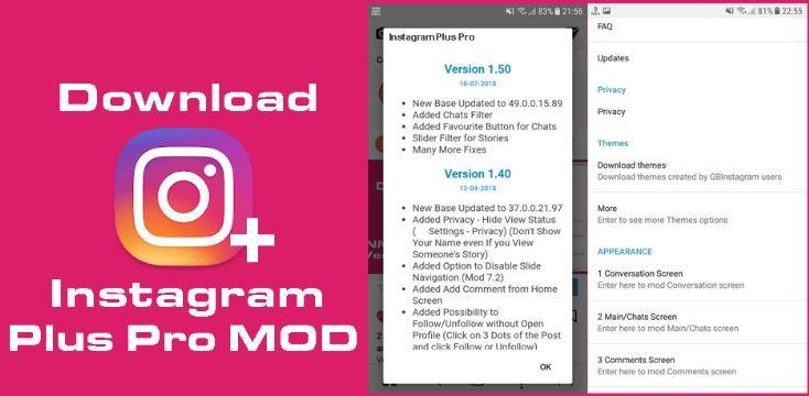 download apk instagram mod