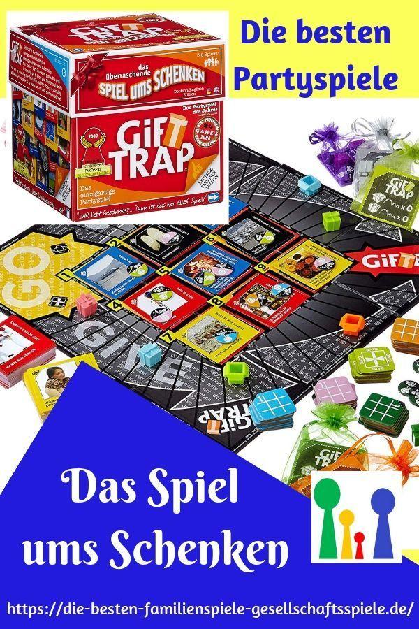 Gift Trap – Das Spiel mit Geschenken! – Die besten Spiele für Eure Party!