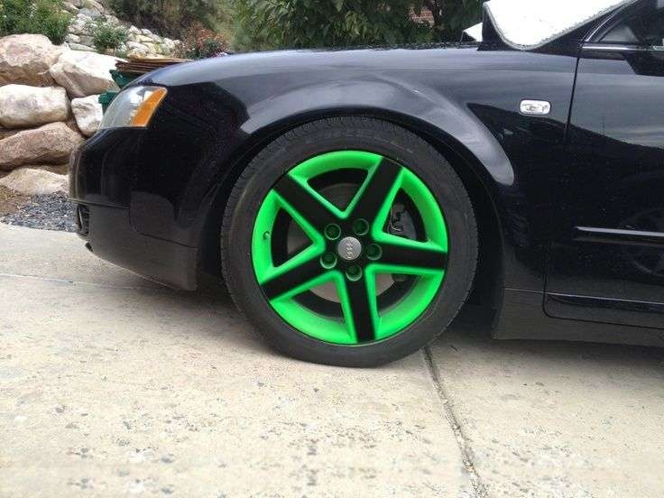 Plasti Dip Custom Color Plasti Dip Wheels Colors Hydro Dipping