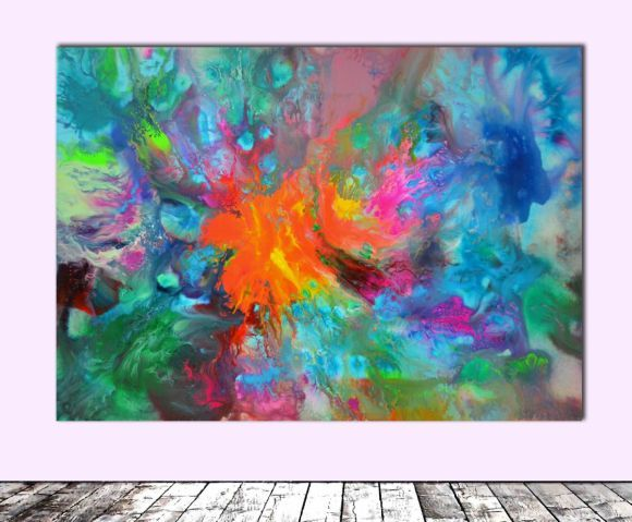 Perfect Balance III   Abstract Painting   Ready To Hang, Office, Home, Hotel