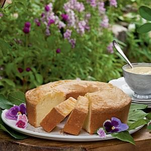 Buttermilk Pound Cake With Custard Sauce Recipe Pound Cake Recipes Cake Recipes Buttermilk Pound Cake