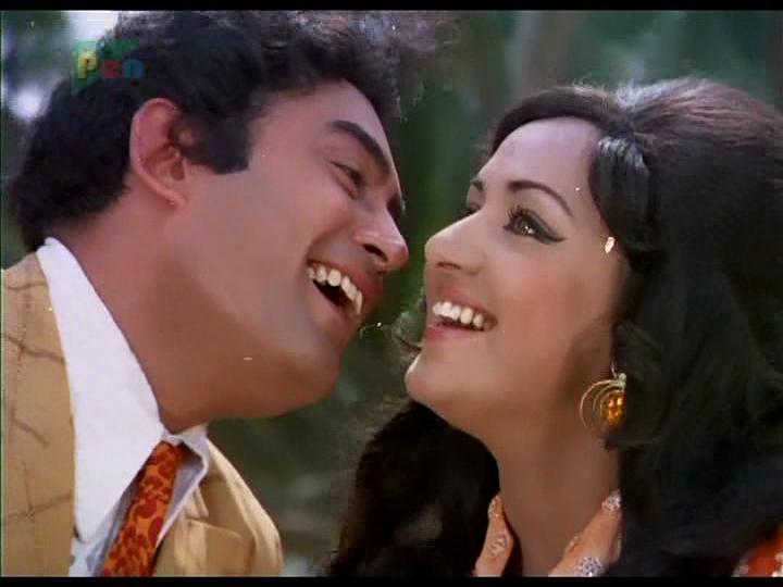 Image result for hema malini and sanjeev kumar