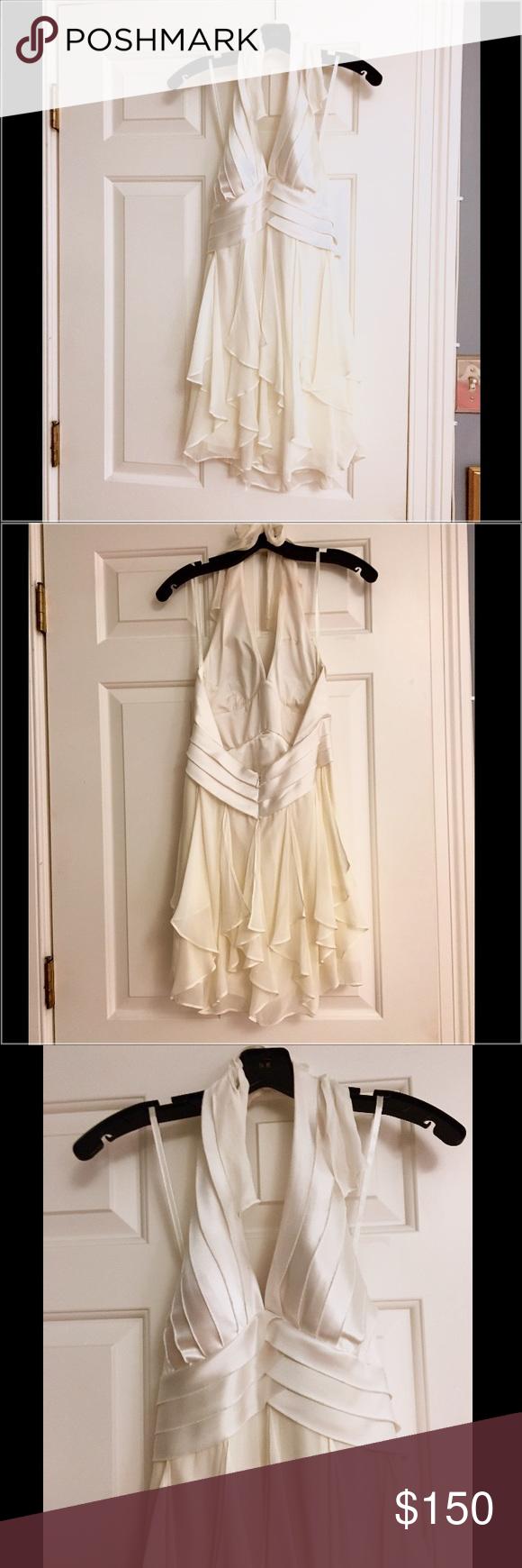 Bcbgmaxazria White Cocktail Dress White Cocktail Dress Marilyn Monroe Fashion Dresses [ 1740 x 580 Pixel ]