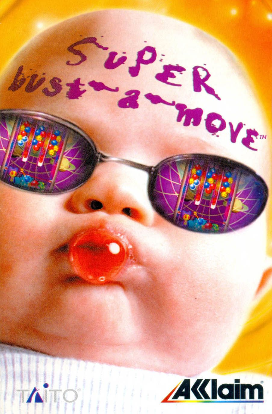 Super BustaMove Bust a move, Baby themes, Arcade console