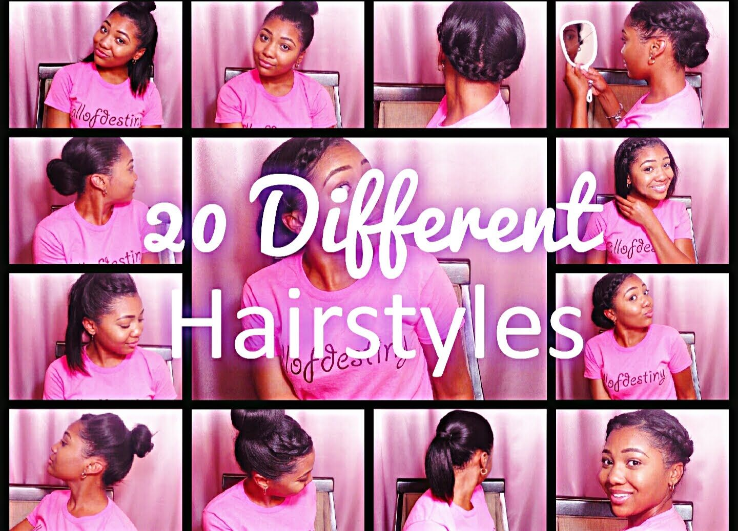 20 hairstyles for straight dirty relaxed hair relaxed hair heres 20 different hairstyles for your straight boring dirty relaxed or natural hair ponytails braided updos buns half up half down hairstlyes pmusecretfo Gallery