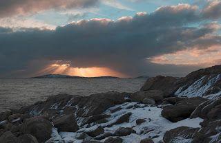 Ron Wassink: Ice on Frobisher Bay, Iqaluit