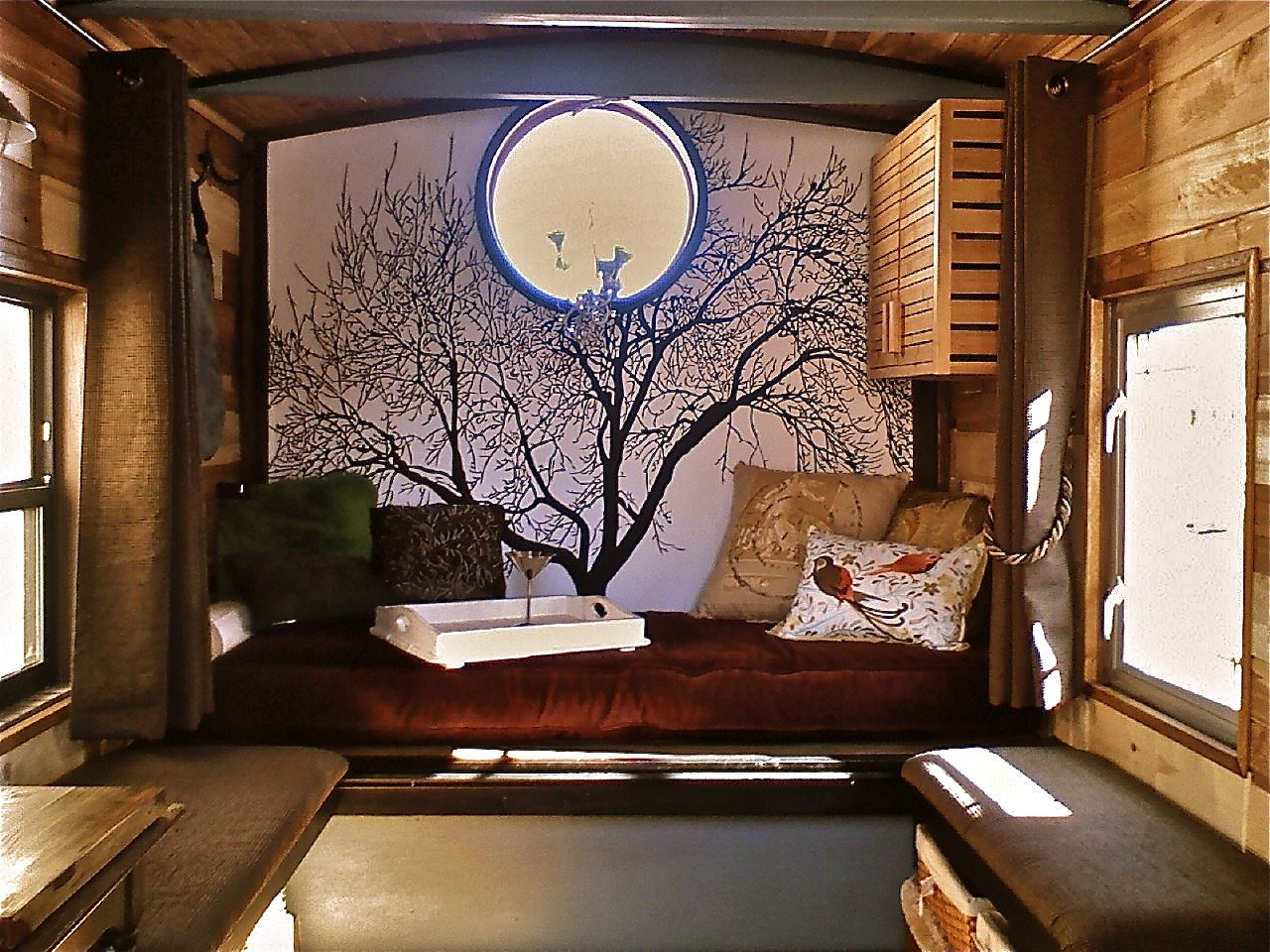 Tiny House Interior Designed And Built By Glenn Grassi Featured In - Interiors of tiny houses