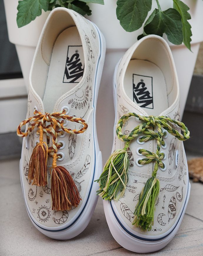 Photo of Sneaker DIY – VANS im Boho Style | Sprinzeminze.com