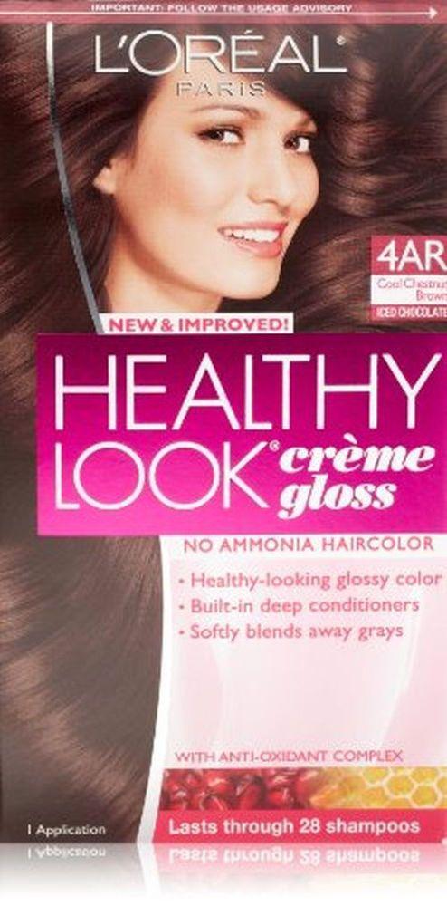 Loreal Healthy Look 4ar Cool Chesnut Brown No Ammonia Hair Color