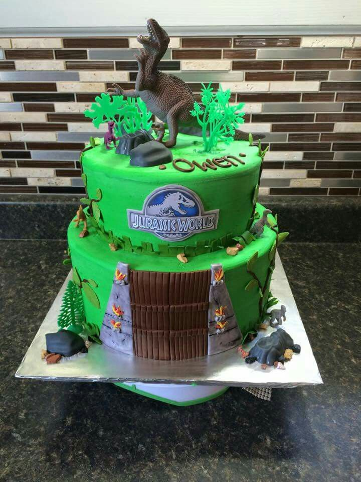 Jurassic World Cake Jurassic World Cake
