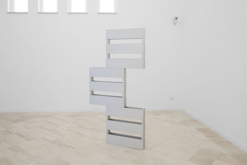 "Dylan Lynch [USA] (b 1987) ~ ""Flawlessly Symmetrical"", 2014. Anodized aluminum (183 × 96.5 x 11.5 cm). 