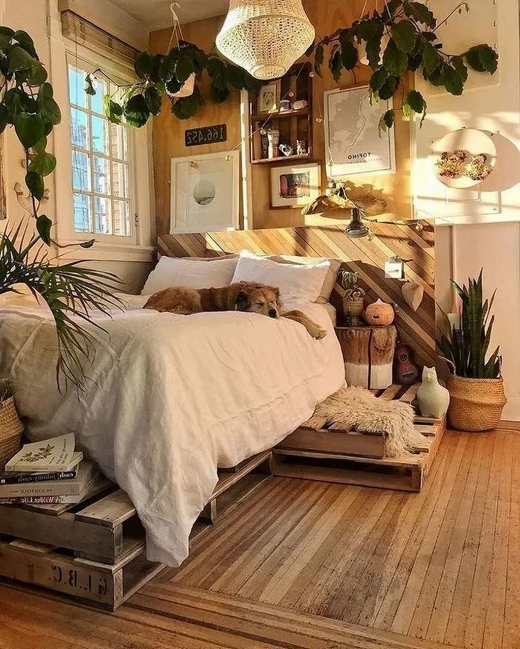 38 Gorgeous Bohemian Bedroom Decor Ideas #bohemianbedrooms