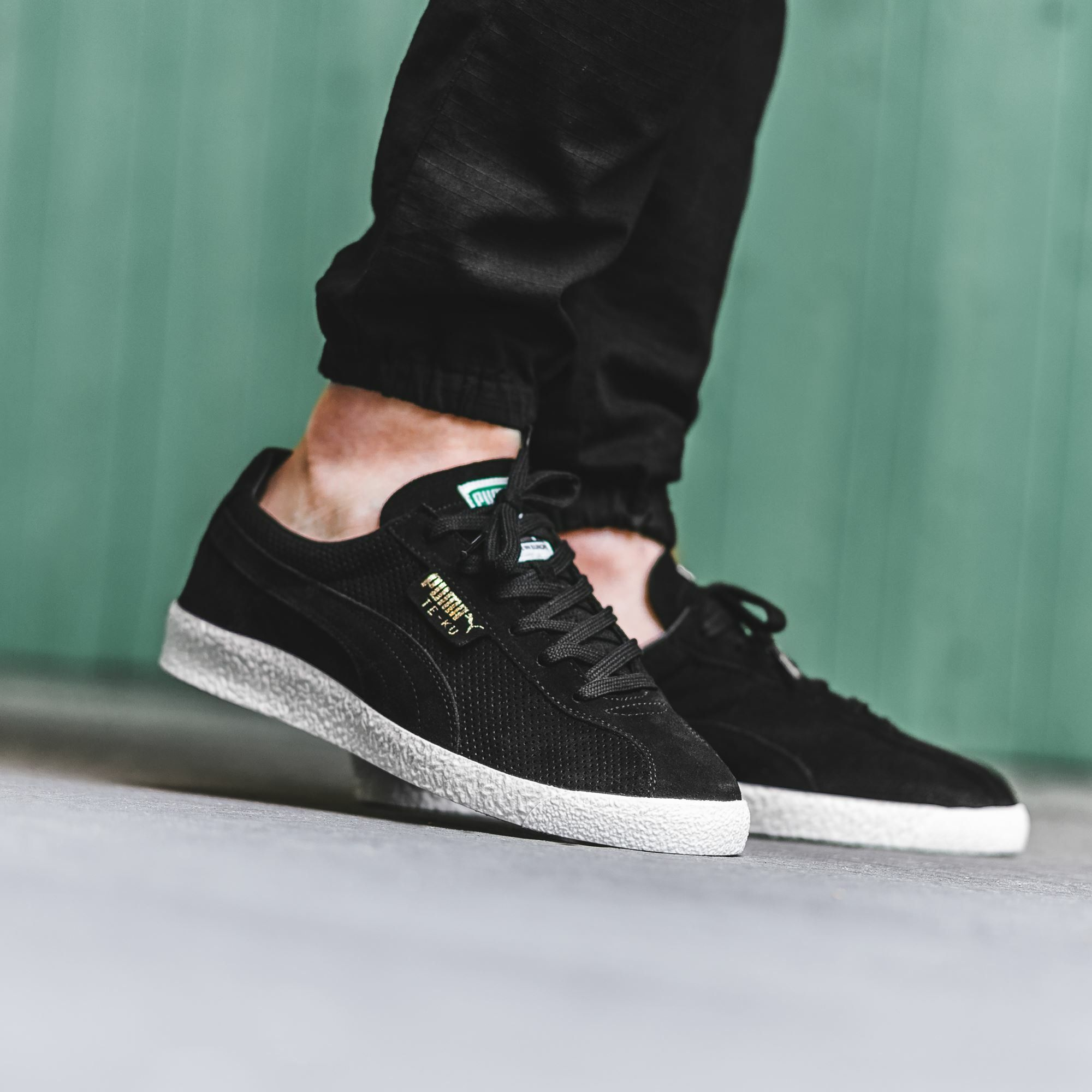 official photos 2c241 5982b Puma Te-Ku: Black | Sneakers: Puma Classics in 2019 | Shoes ...