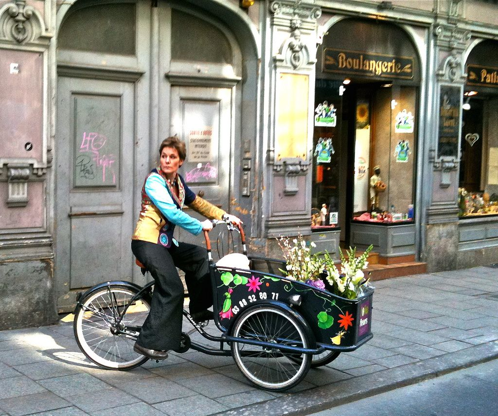Le vélo cargo à Strasbourg