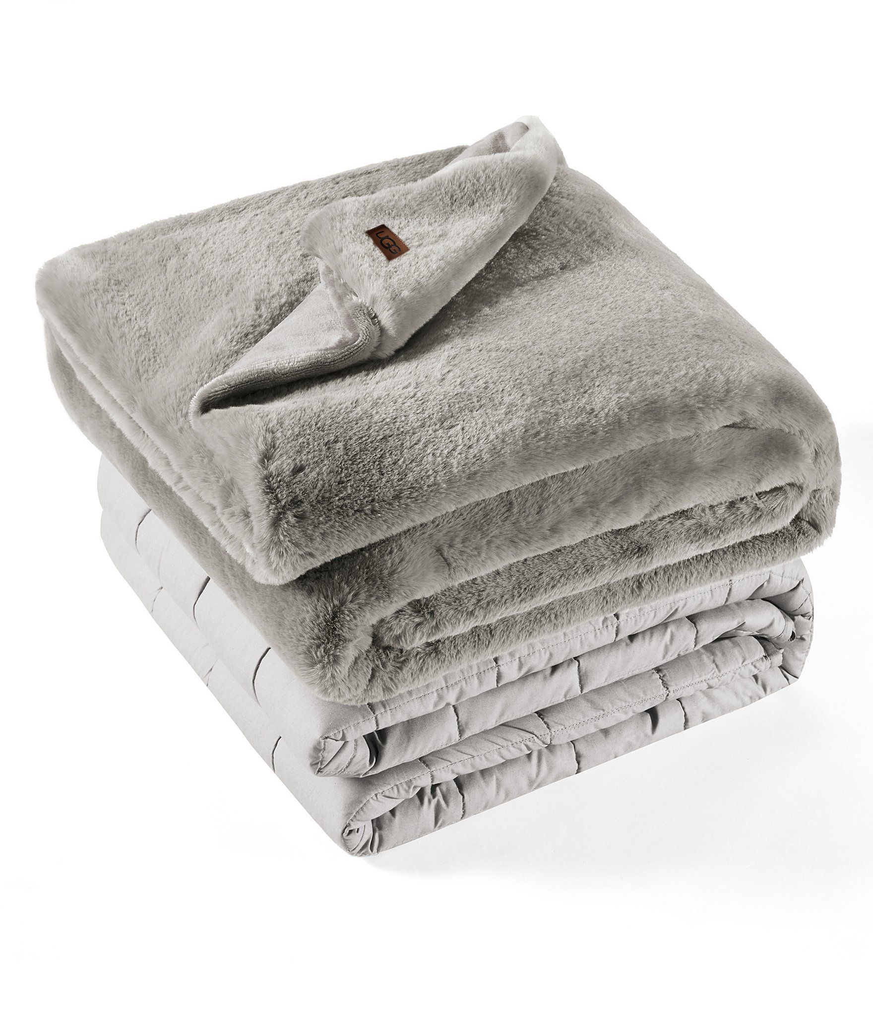 Ugg 12 Lb Weighted Plush Blanket With Cover Plush Blanket Weighted Blanket Uggs