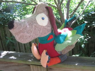 Happy Hybrids - an adorable local textile artist offering stuffed animals, bags, sock animals and more.