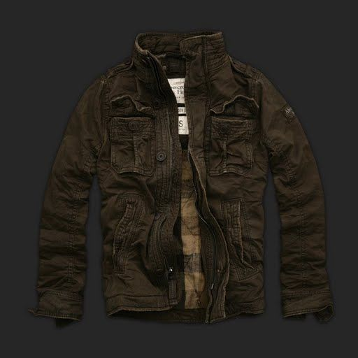Abercrombie And Fitch Clothing Abercrombie And Fitch Hoodies Abercrombie And Fitch Jackets Abercrombie And Fitch Sweater: Abercrombie & Fitch Mens Coats Jacket 009
