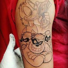 c6b2757690f1f Resultado de imagem para tatuagem de tio patinhas e os irmãos metralha