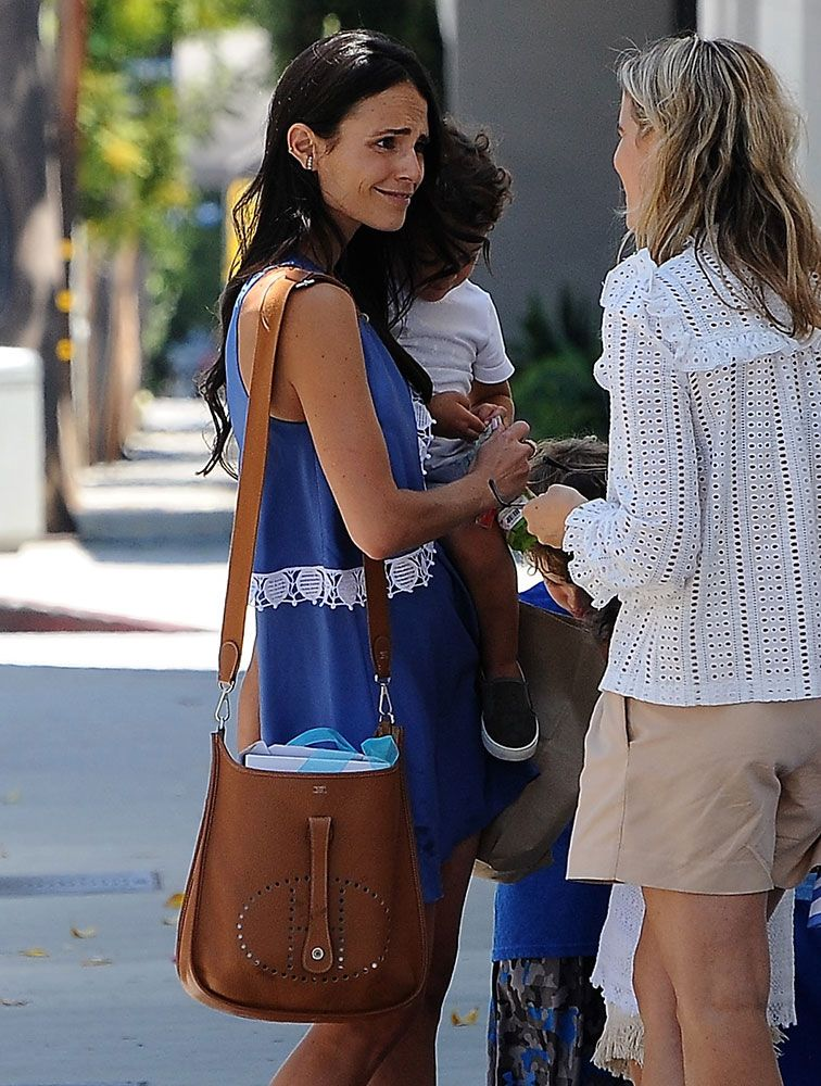 fb91520d4d2 Just Can t Get Enough  Jordana Brewster and Her Hermès Evelyne Bags ...