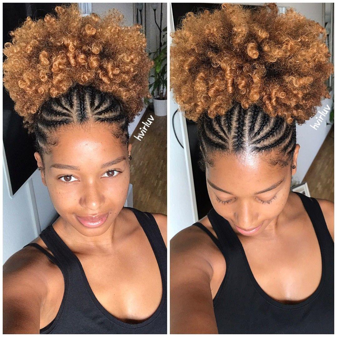Haircareafterchemo Natural Hair Styles Hair Puff Cornrow Hairstyles