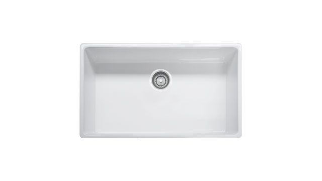 Franke Kitchen Sinks Farm House Fhk710 33 Fireclay White Sink