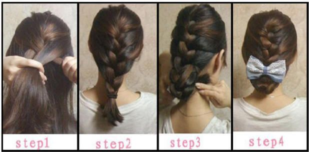 Fine Black Hair Colors French Braid Hairstyles And Brown Highlights On Hairstyle Inspiration Daily Dogsangcom