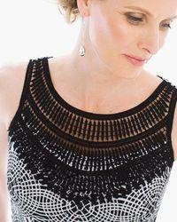 Crochet Bib Short Dress