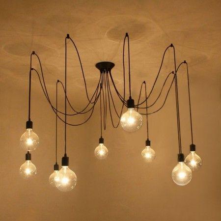 E27 Abat jour de Lustre Lampe  Suspension Plafonnier Plafond Déco
