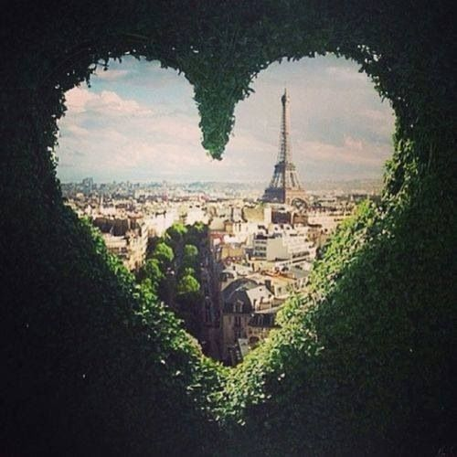 I would love to go to Paris...the city of love...meant for me and Romeo<3