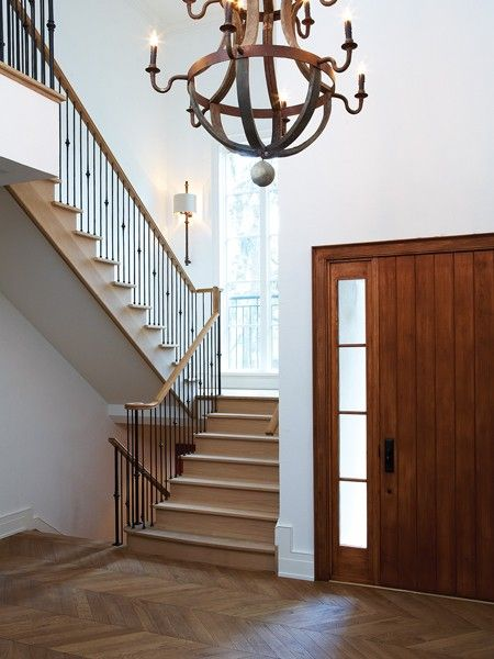 Mansion Foyer Chandelier : House home entrances foyers bobo wine barrel