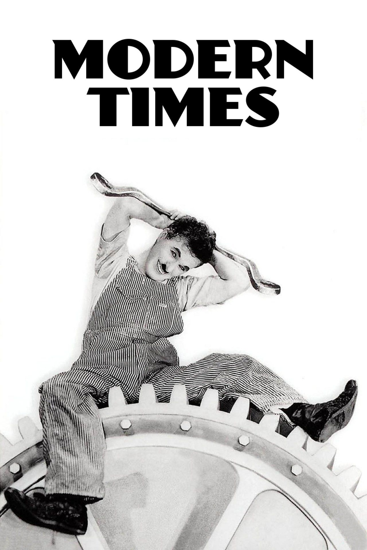 Modern Times, Charlie Chaplin's last outing as the Little Tramp, puts the iconic character to work as a giddily inept factory employee who becomes smitten with a gorgeous gamine (Paulette Goddard). With its barrage of unforgettable gags and sly commentary on class struggle during the Great Depression, Modern Times--though made almost a decade into the talkie era and containing moments of sound (even song!)--is a timeless showcase of Chaplin's untouchable genius as a director of silent…
